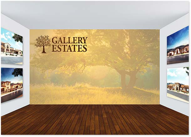 sales office wall mural