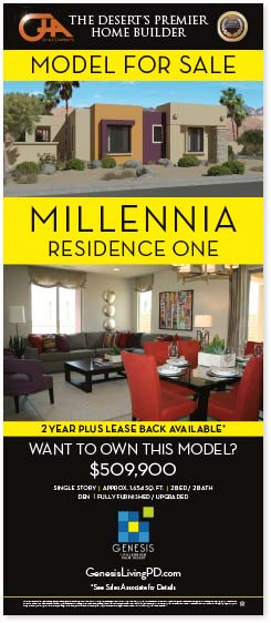 retractable banner for millenia model