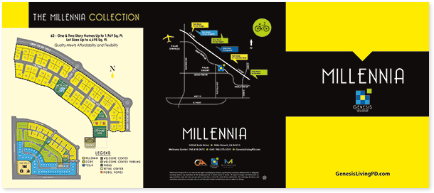 millenia brochure outside