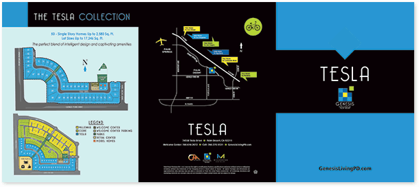 tesla brochure outside